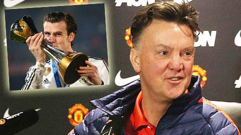 Van Gaal úp mở về vụ Gareth Bale