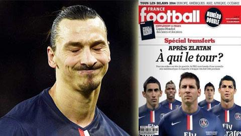 """PSG chật vật tìm """"truyền nhân"""" của Ibrahimovic"""