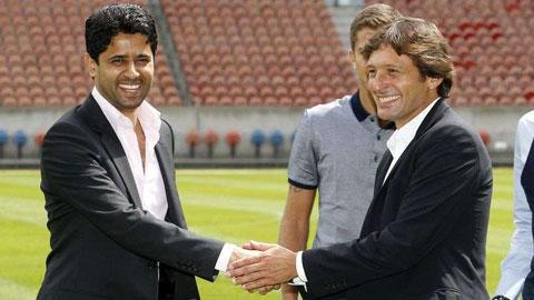 PSG sa thải Blanc, đón Leonardo trở lại?
