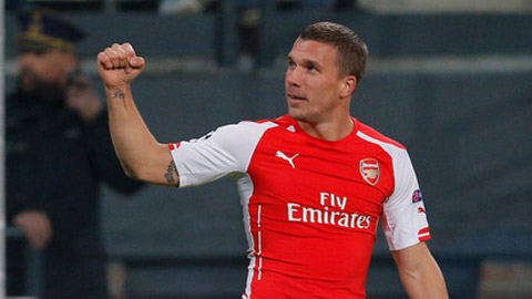 Inter Milan đạt thỏa thuận mượn Podolski