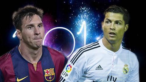 Những cột mốc đáng chú ý trong năm 2014 của Ronaldo và Messi