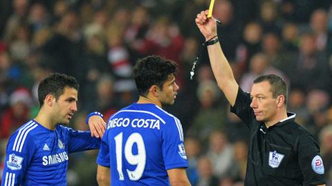 Vị trí của Costa bị đe doạ