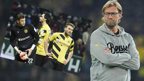 Dortmund đã lạc hậu