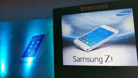 Samsung Z1: Smartphone đầu tiên chạy Tizen sẽ ra mắt 18/1