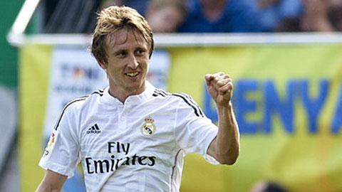 Modric kịp cùng Real đá vòng 1/8 Champions League