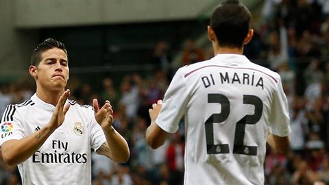 James sẽ khiến người Madrid quên Di Maria