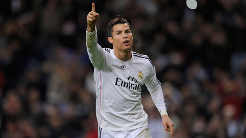 Ronaldo quyết thâu tóm mọi danh hiệu cùng Real Madrid