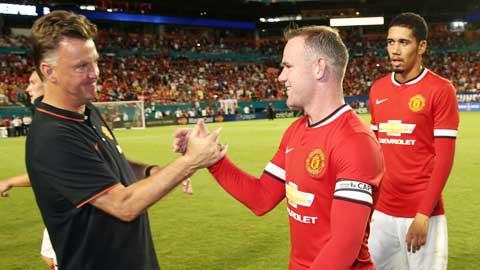 Rooney đang thực hiện quá tốt triết lý của Van Gaal