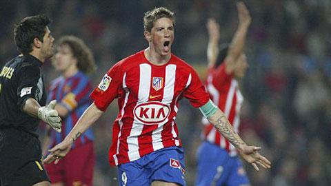Torres chính thức trở lại mái nhà Atletico