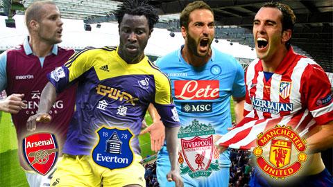 Tân binh mơ ước trong năm mới của 20 đội bóng Premier League
