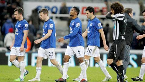Everton mắc sai lầm nhiều nhất Premier League từ đầu mùa