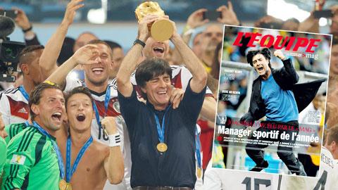 HLV thể thao xuất sắc nhất thế giới 2014: Chỉ có thể là Joachim Loew!