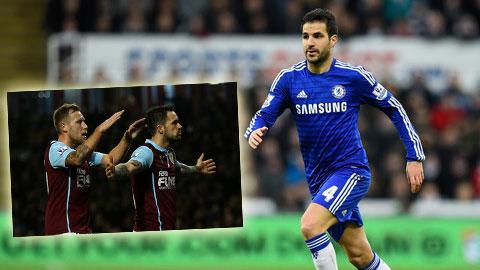 Lượt đi Premier League qua những con số: Fabregas quá vượt trội