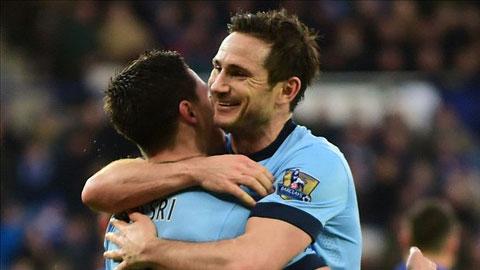 Lampard sẽ gắn bó với Man City đến cuối mùa