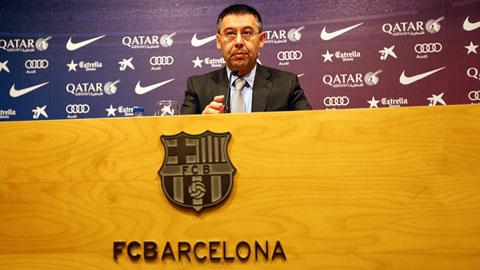 Barca: Triều đại Bartomeu đang lung lay