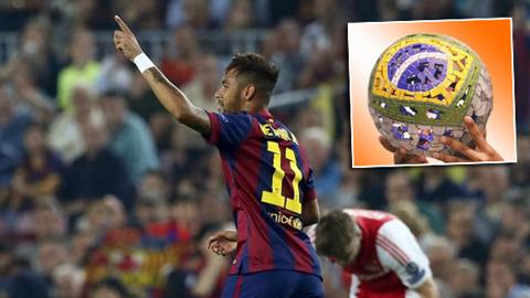 Neymar giành Bóng vàng Brazil