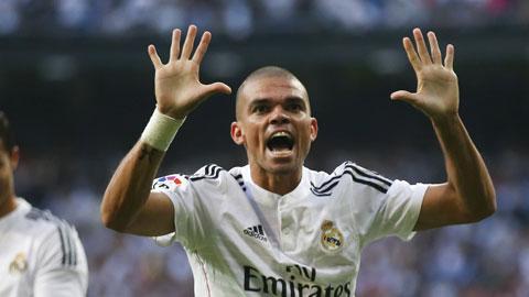 """Cặp trung vệ Pepe - Ramos của Real: """"Thưởng thiện, phạt ác"""""""