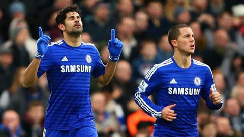 Sơ kết nửa mùa giải 2014/15 của Chelsea