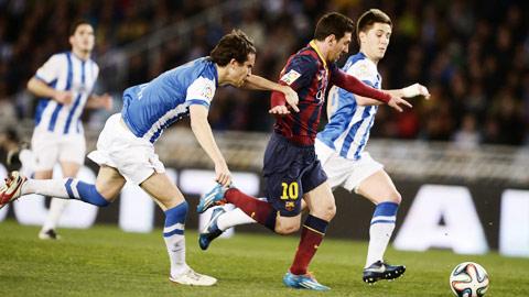 03h00 ngày 5/1, Sociedad vs Barcelona: Vượt ải đầu năm