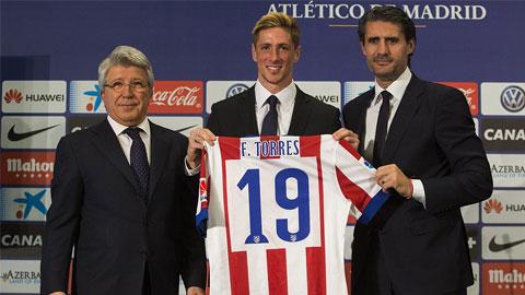 Torres ra mắt trước 45.000 CĐV Atletico Madrid