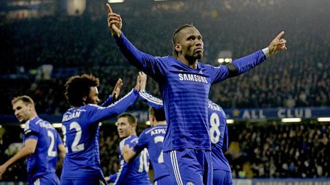 """""""Voi rừng"""" Drogba sẽ giúp Chelsea trở lại phong độ đỉnh cao"""