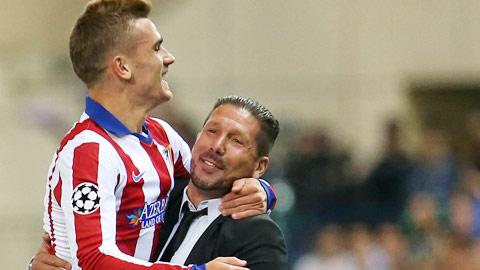 Griezmann đe dọa Torres