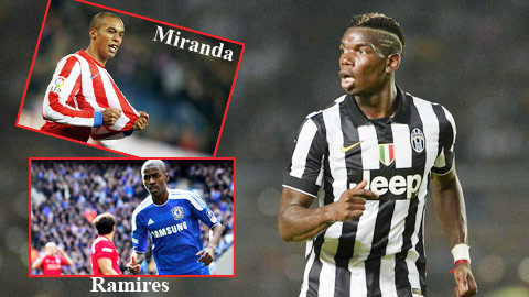 Juventus bán Pogba để tậu Falcao, Ramires và Miranda