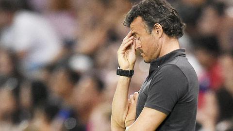 Enrique chủ quan, Barca trả giá