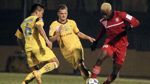 SLNA thua sốc 0-3 trước Hải Phòng: Lời cảnh tỉnh trong cơn ác mộng