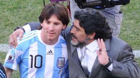 Quả bóng Vàng 2014: Đến Maradona cũng