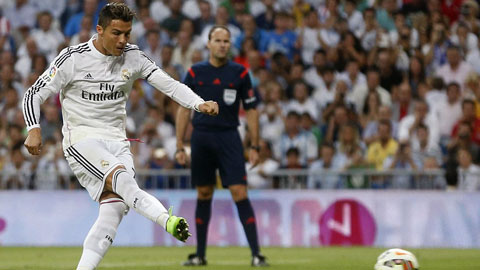 Real Madrid được hưởng nhiều penalty hơn 10 đội La Liga cộng lại