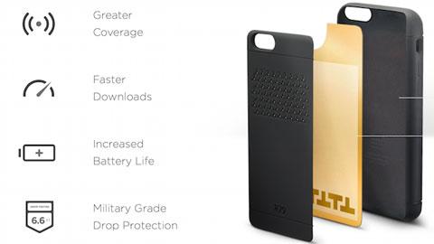 Case thông minh đầu tiên dành cho iPhone 6 và iPad xuất hiện tại CES 2015