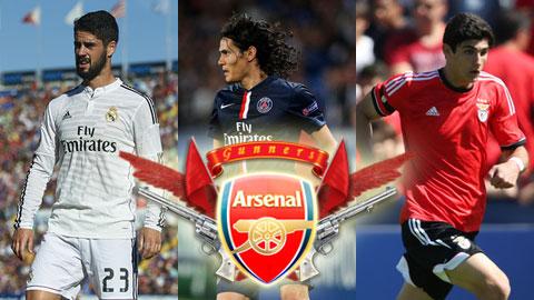 Tổng hợp chuyển nhượng (7/1): Arsenal kích hoạt 3
