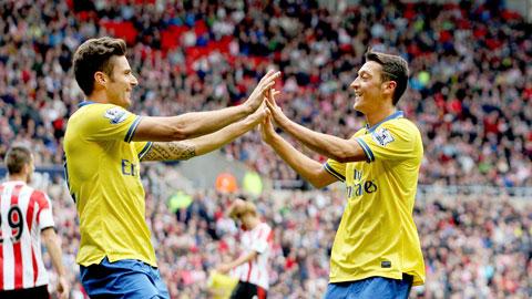 Arsenal: Oezil tái xuất cuối tuần này
