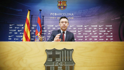 Bartomeu sắp rút lui, Barca bầu cử sớm