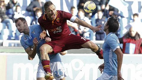 Tổng quan trước vòng 18: Định mệnh derby Roma!