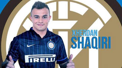 Xherdan Shaqiri đồng ý sang Inter