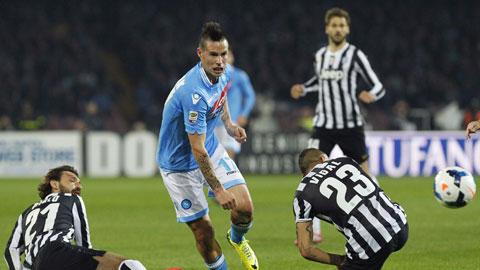 02h45 ngày 12/1, Napoli vs Juventus: Hiểm họa San Paolo