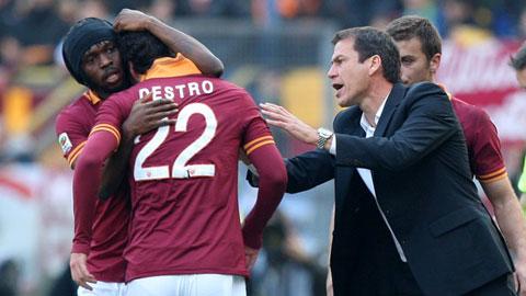 Roma có 13 cầu thủ ghi bàn: Garcia không cần siêu tiền đạo!