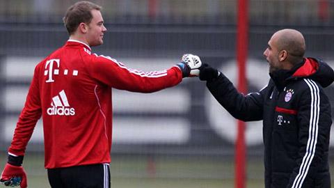 Với Guardiola, Neuer vẫn người chiến thắng dù không có QBV