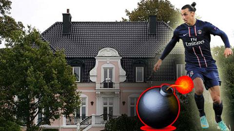 Sau giờ bóng lăn 12/1: Biệt thự của Ibrahimovic bị đặt bom