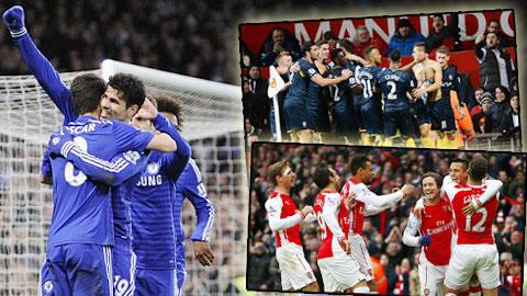 Tổng quan vòng 21 Premier League: Biến động ở top 5