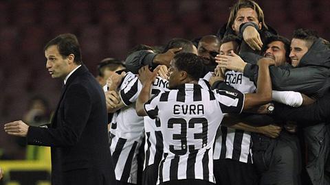 Napoli 1-3 Juventus: