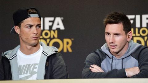 Ronaldo & Messi: Chân tiểu nhân, ngụy quân tử!