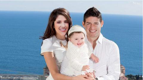Vợ James Rodriguez là hoa khôi bóng chuyền