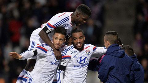 Lyon vươn lên dẫn đầu BXH Ligue 1: Quyền lực cũ trở lại