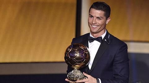Ronaldo nói gì khi lần thứ 3 nhận Quả bóng Vàng?