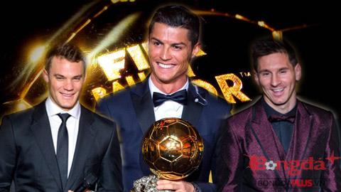 Chi tiết về Quả bóng vàng 2014