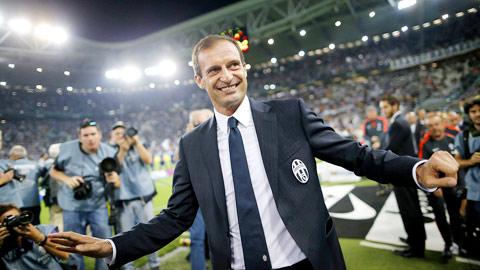 Allegri: HLV khởi đầu tốt nhất của Juve