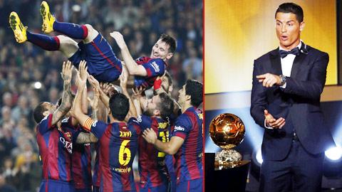 Messi vs Ronaldo: Cuộc chiến vẫn đang tiếp diễn